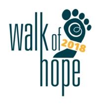 Walk of Hope 2018 Logo